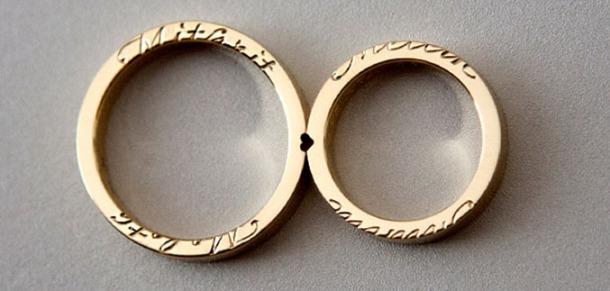 wedding rings by Michaela Arl De Lima