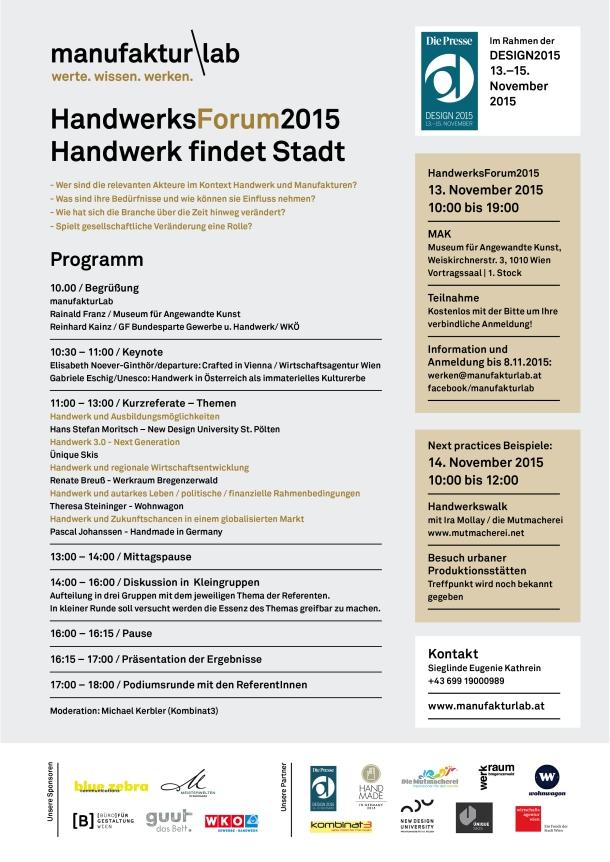 Die Presse ManufakturLab_Programm