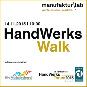 Let´s Walk –HandwerksWalk
