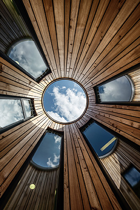 Kinderhaus am Haidgraben in Ottobrunn Architekten: Venus Architekten München Bearbeitung: Jürgen Krall Architekturphotographie ------------------------------- Bild Nr.: _1423300-550 www.krall-photographie.de